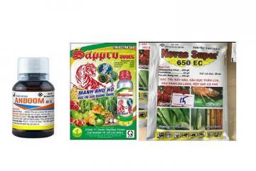 Loại bỏ thuốc bảo vệ thực vật chứa hai hoạt chất Chlorpyrifos Ethyl và Fipronil