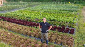 Trang trại hữu cơ tuyệt đẹp của tác giả cuốn sách nông nghiệp nổi tiếng thế giới