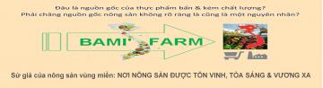 Danh mục nông đặc sản vùng miền