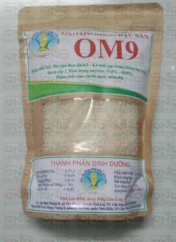 Gạo đặc sản hạt dài-dẻo-thơm Cửu Long OM9